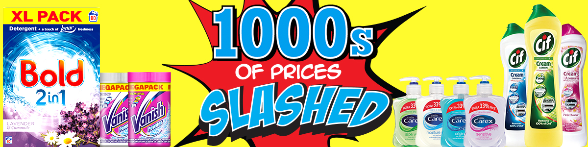 1000s Prices Slashed Image