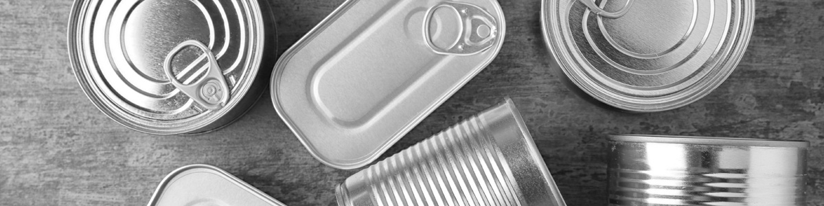 Cans and Tins Image