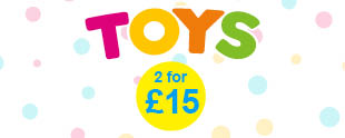 2 for £15 Toys Image
