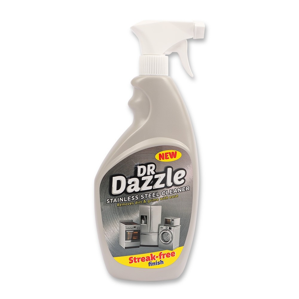 DR DAZZLE STAINLESS STEEL CLEANER 750ML