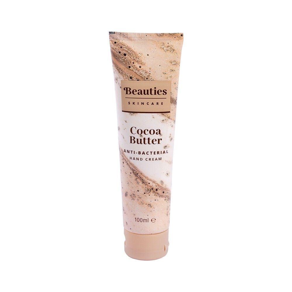 BEAUTIES SKINCARE ANTI-BACTERIAL HAND CREAM - COCOA BUTTER 100ml