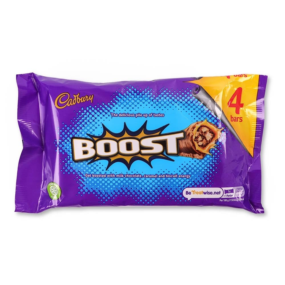 CADBURY BOOST CHOCOLATE 4 PACK