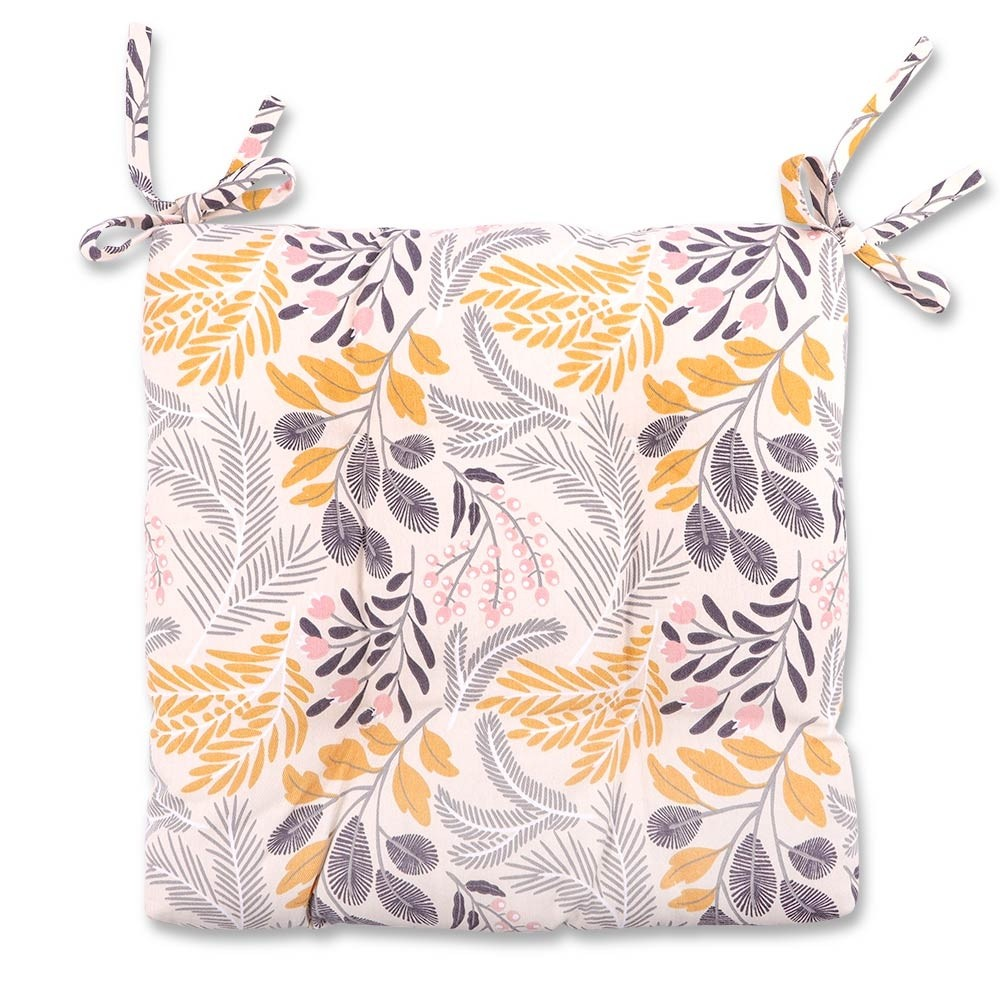 CUSHIONED SEAT PAD FLORAL