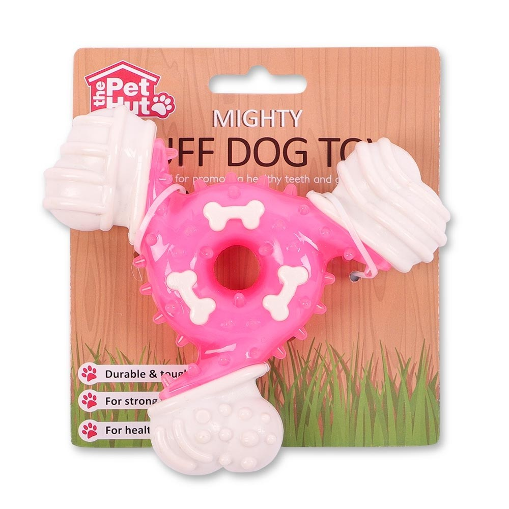 PINK MIGHTY TUFF DOG TOY