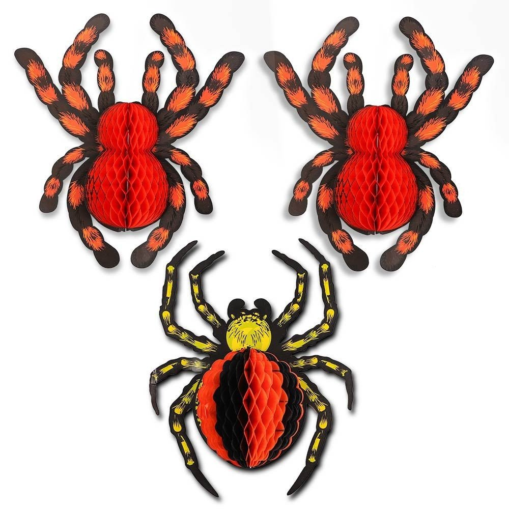 HONEYCOMB SPIDERS 3 PACK