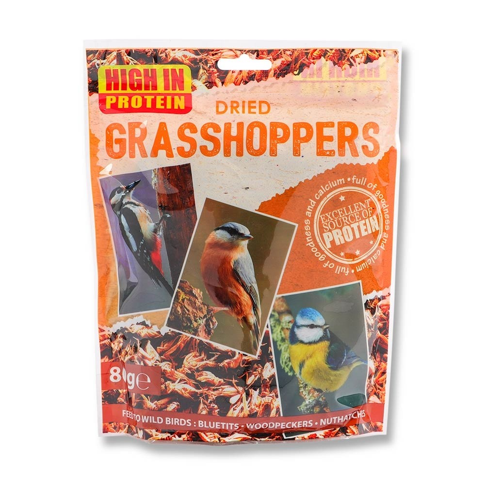 DRIED GRASSHOPPERS 80G