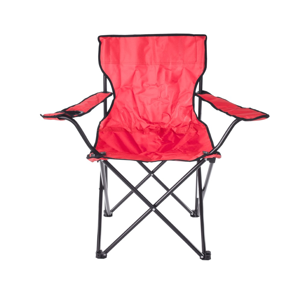 RED FOLDAWAY CAMPING CHAIR
