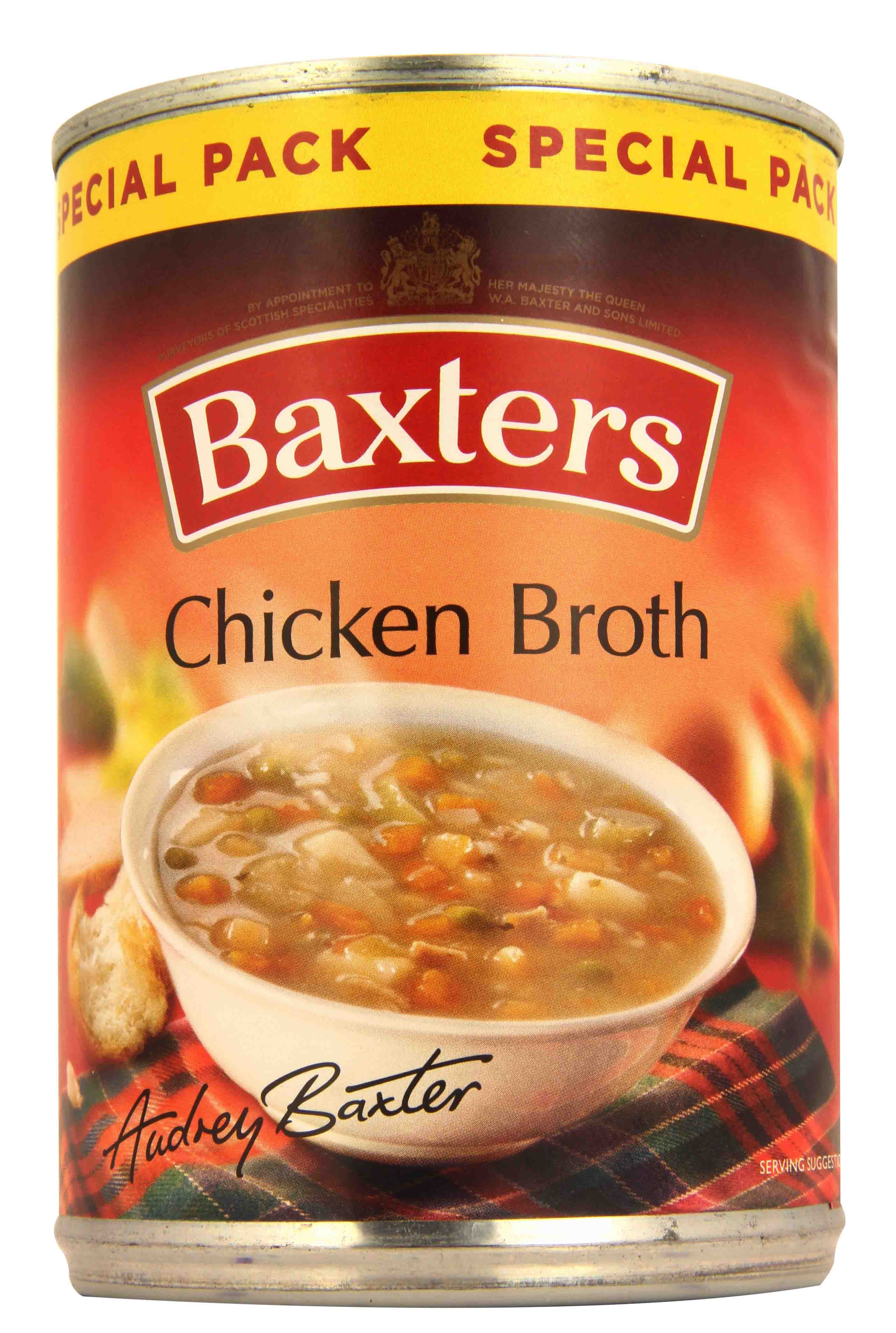 BAXTERS CHICKEN BROTH SOUP 380G