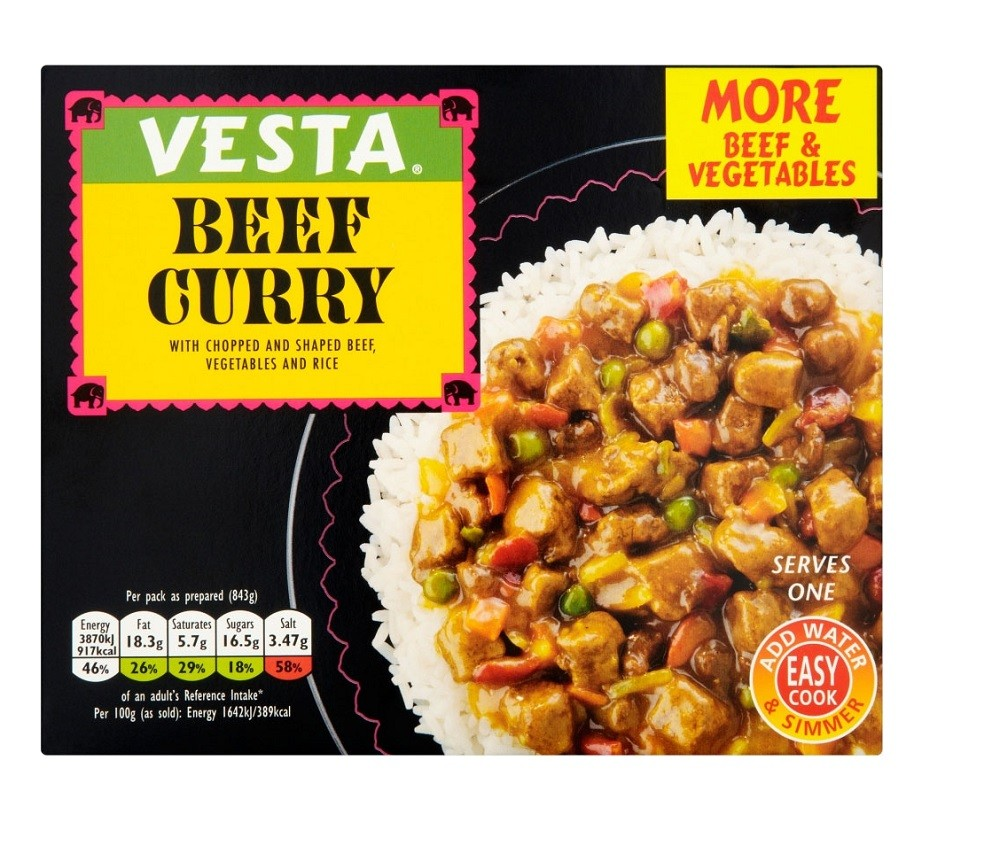 VESTA BEEF CURRY 236G