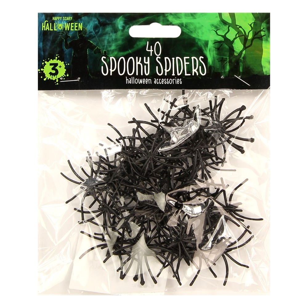 40 SPOOKY SPIDERS