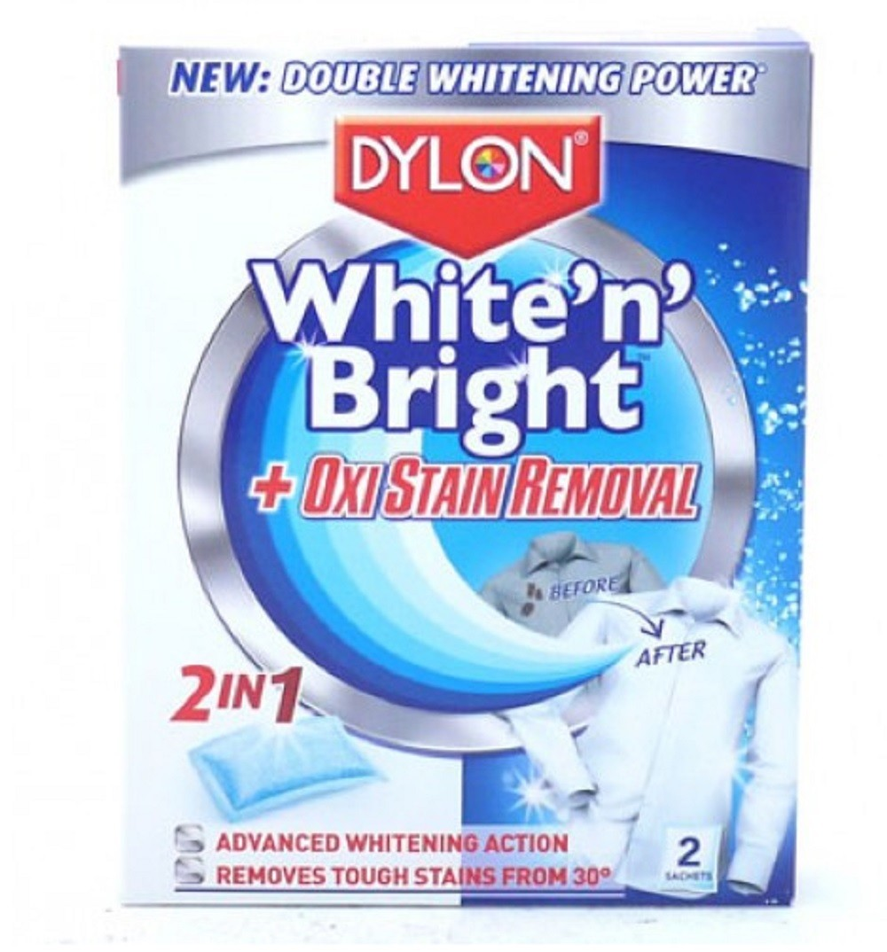 DYLON WHITE 'N' BRIGHT + OXI STAIN REMOVAL