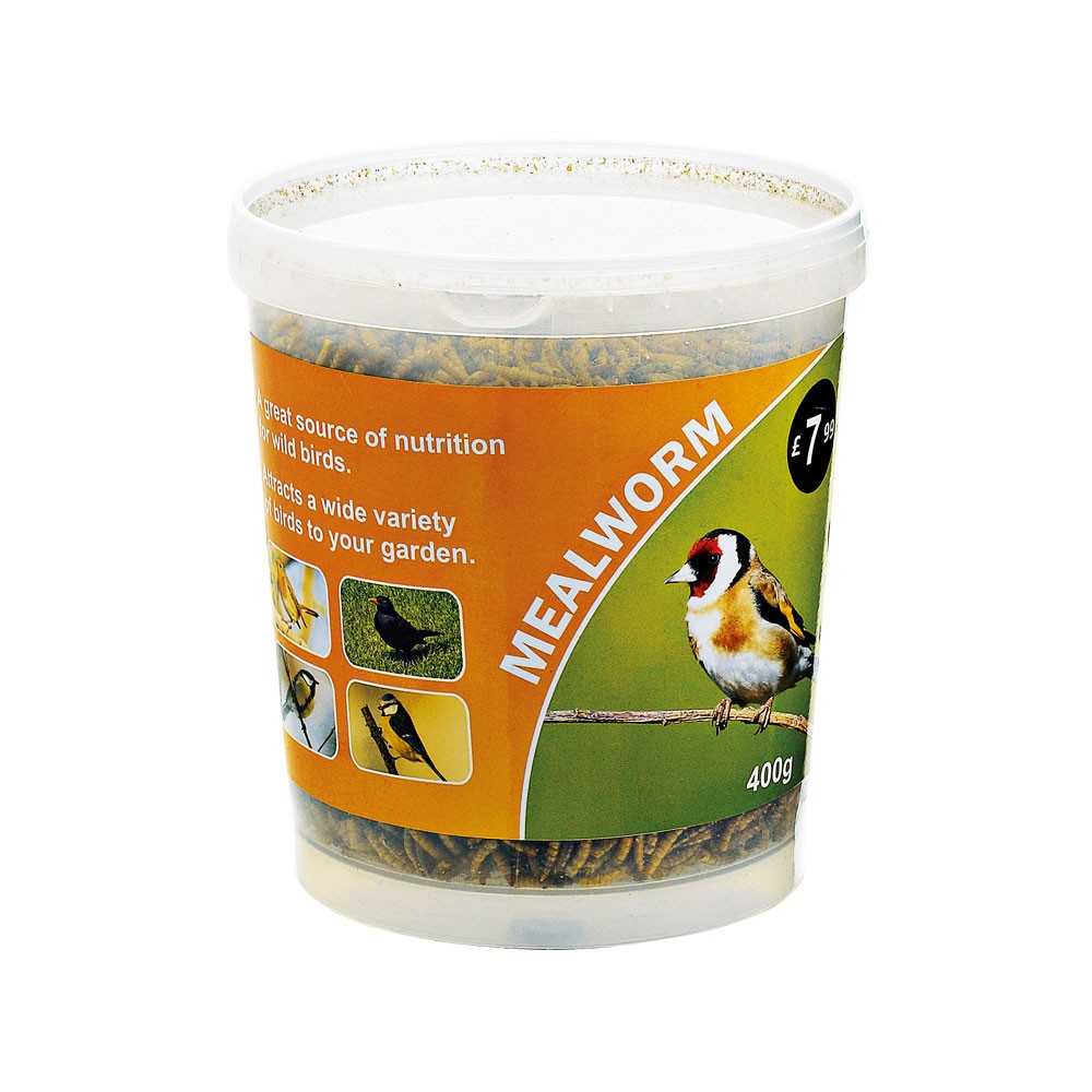 MEALWORMS TUB 400G