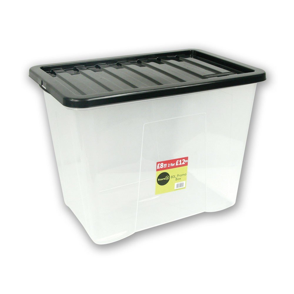 80L PLASTIC STORAGE BOX