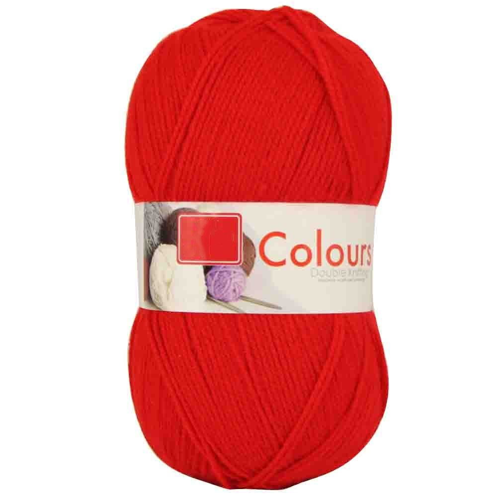 DOUBLE KNIT STANDARD YARN 1 X 150G RED
