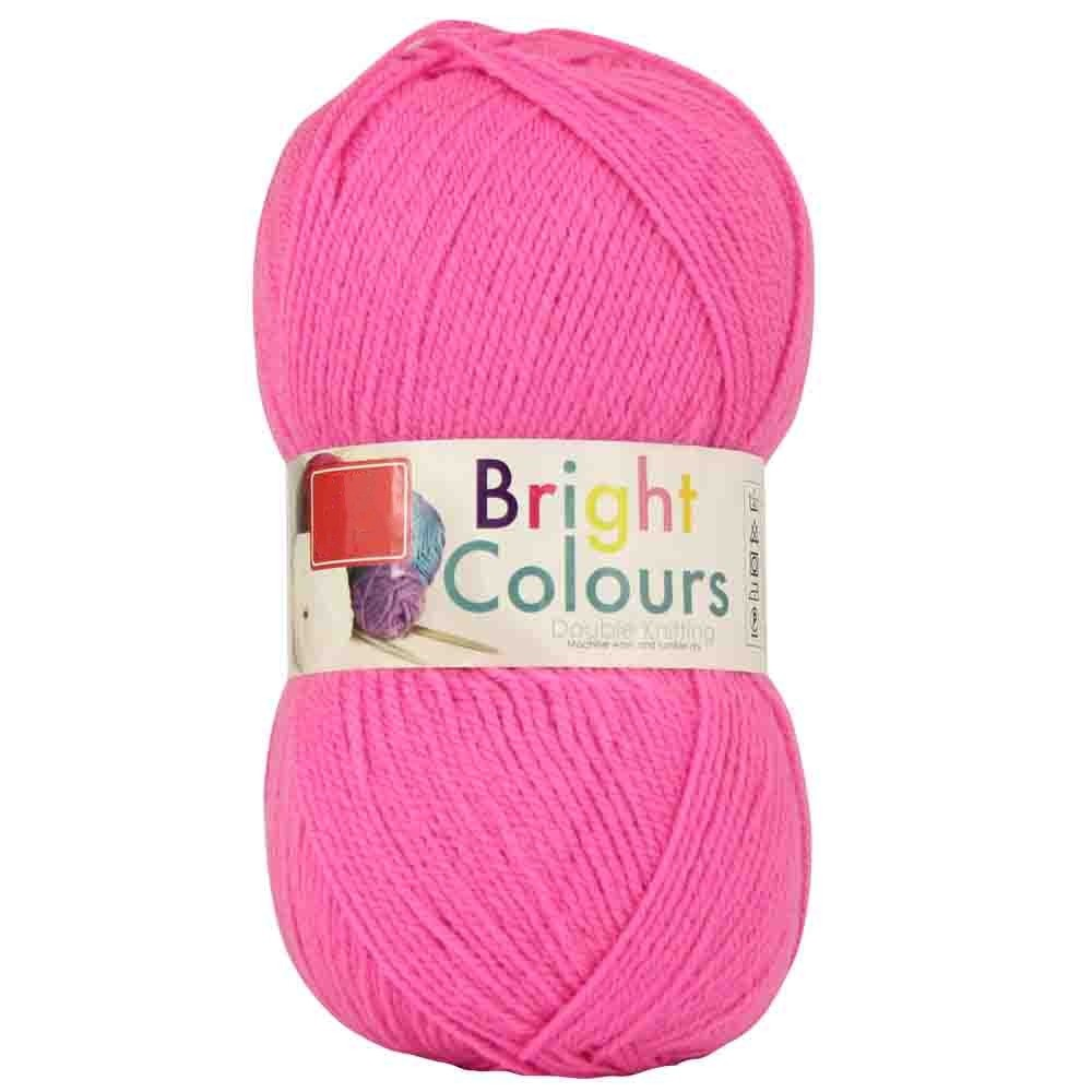 DOUBLE KNIT YARN 1x150g - CANDY PINK