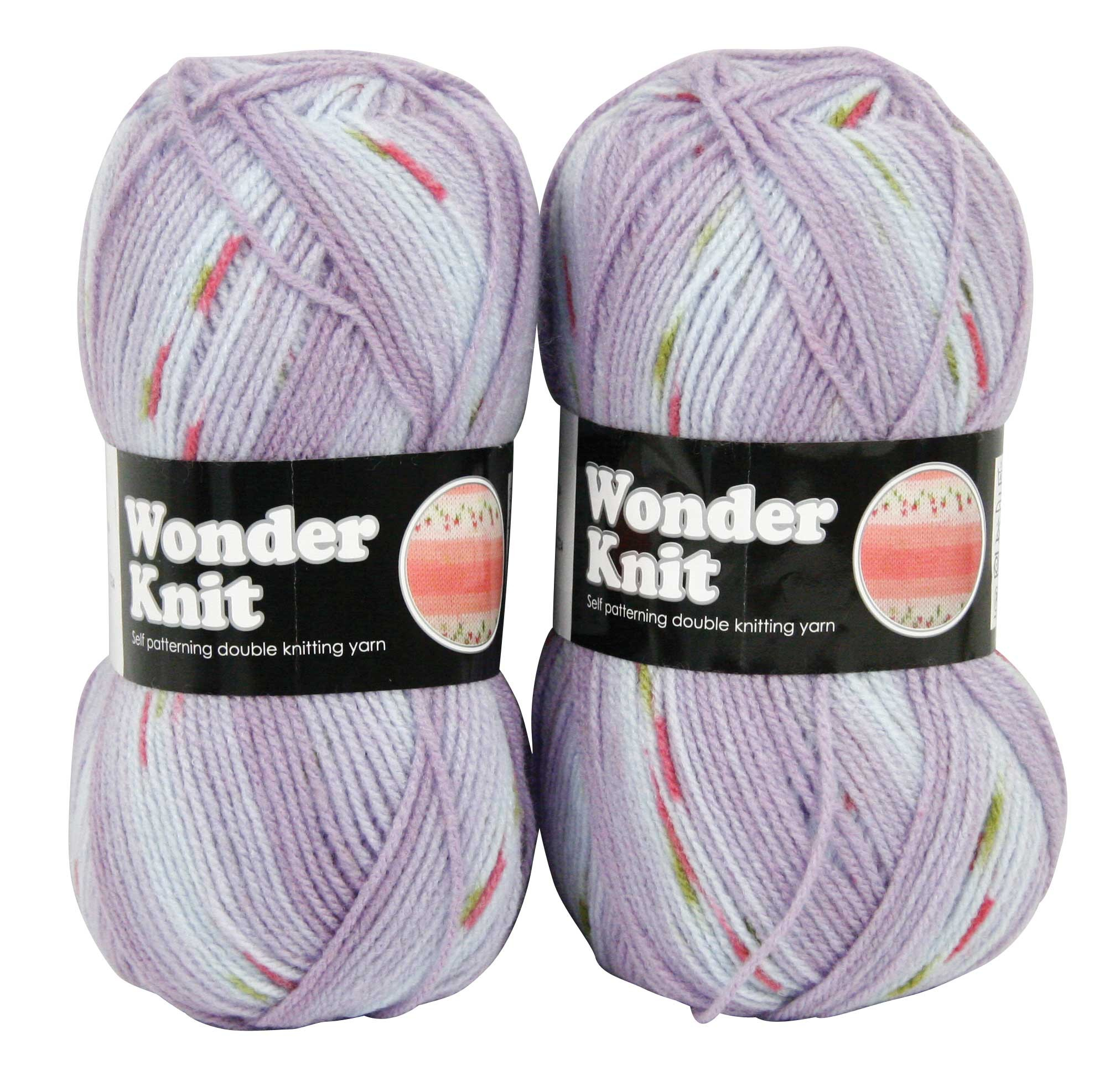 WONDER KNIT YARN 2x100g