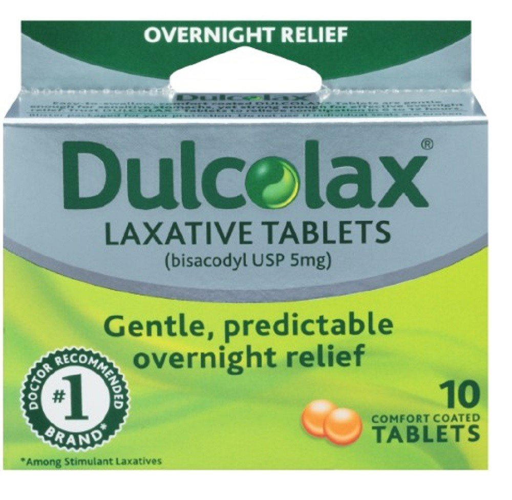 DULCOLAX LAXATIVE 10 TABLETS
