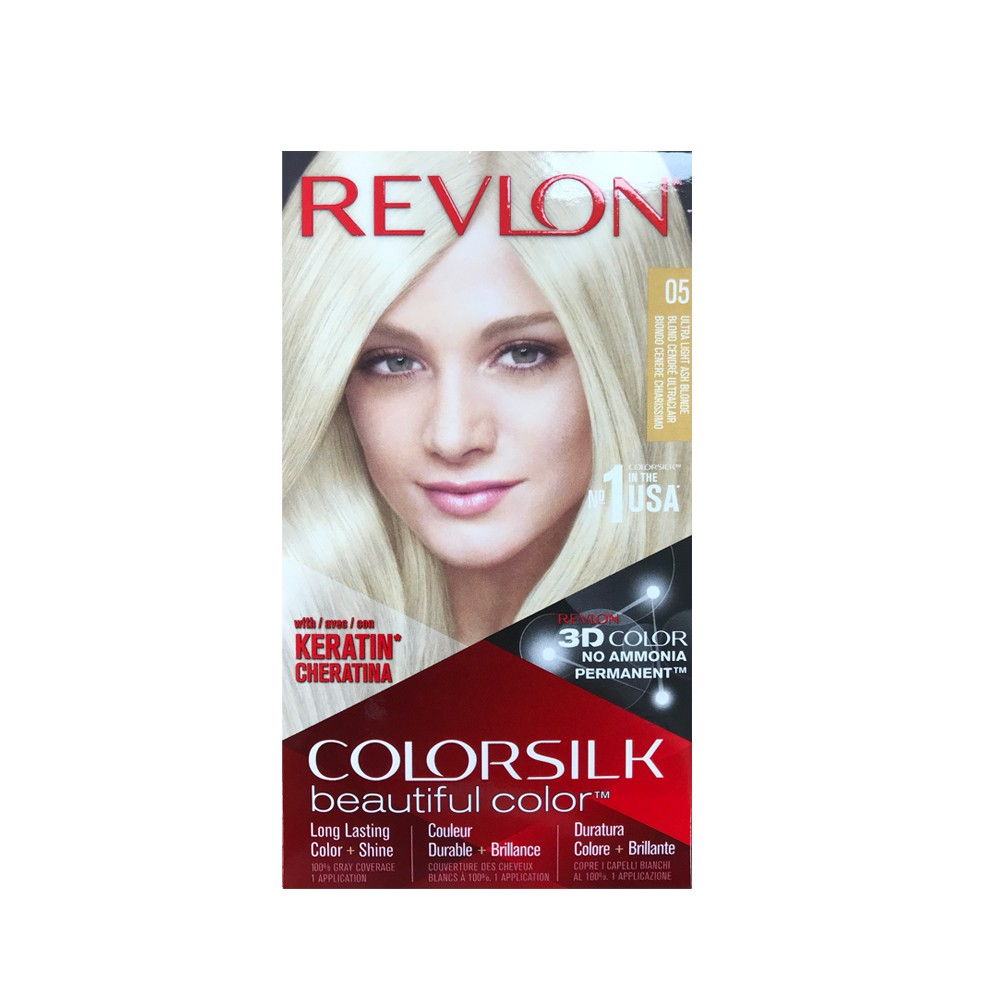 REVLON ULTRA LIGHT ASH BLONDE 5