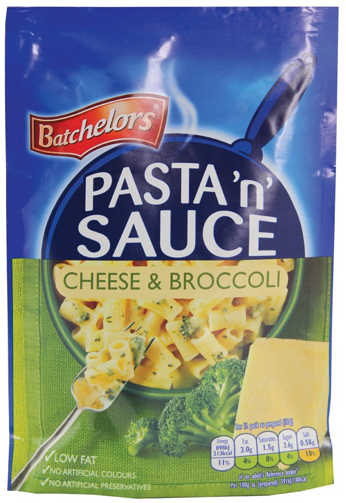 BATCHELORS PASTA 'n' SAUCE CHEESE AND BROCCOLI 99G