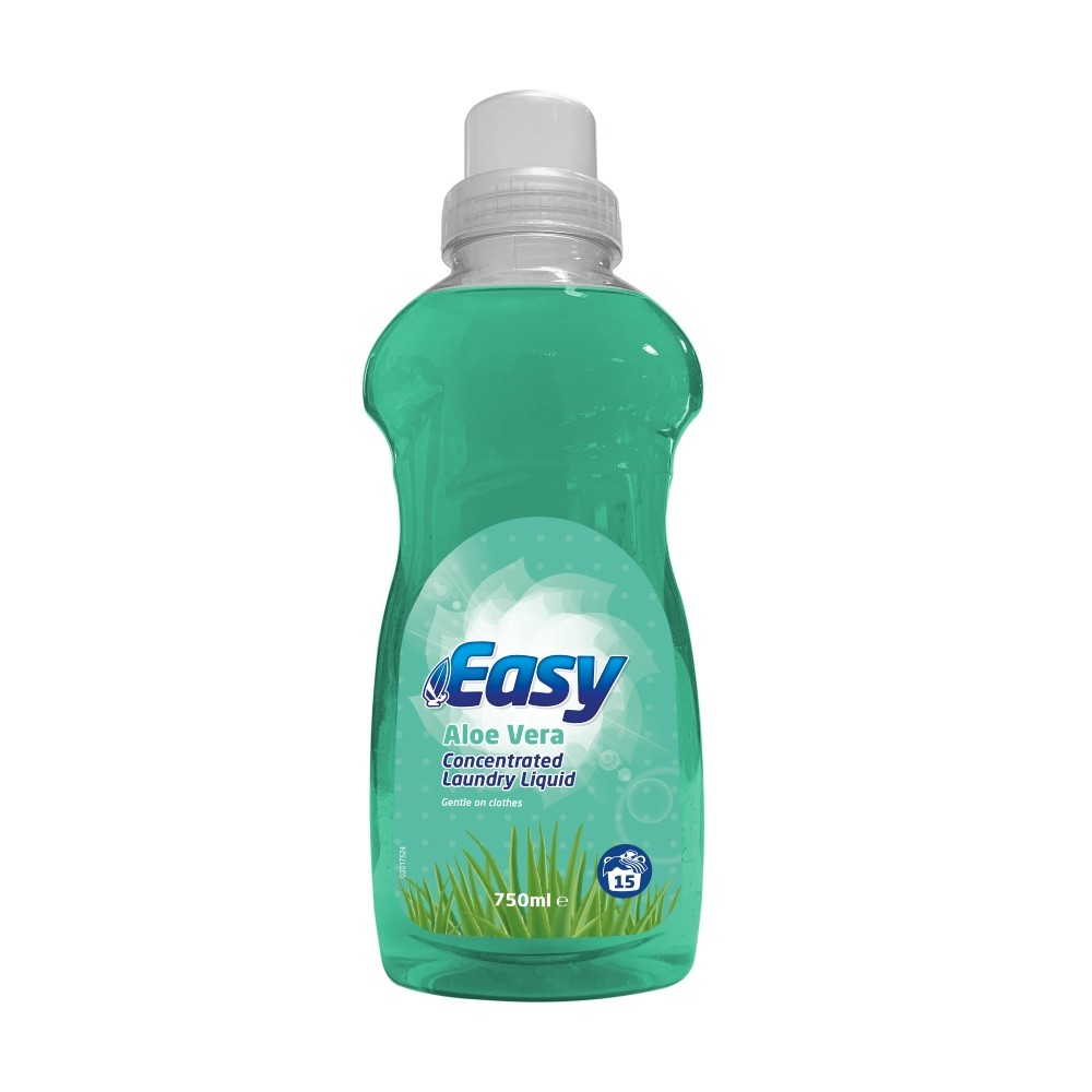 EASY LAUNDRY LIQUID ALOE VERA 15 WASHES