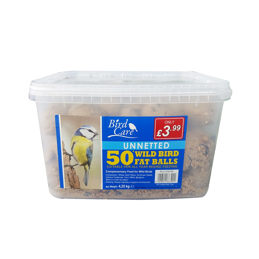 UNNETTED 50 TUB FATBALLS