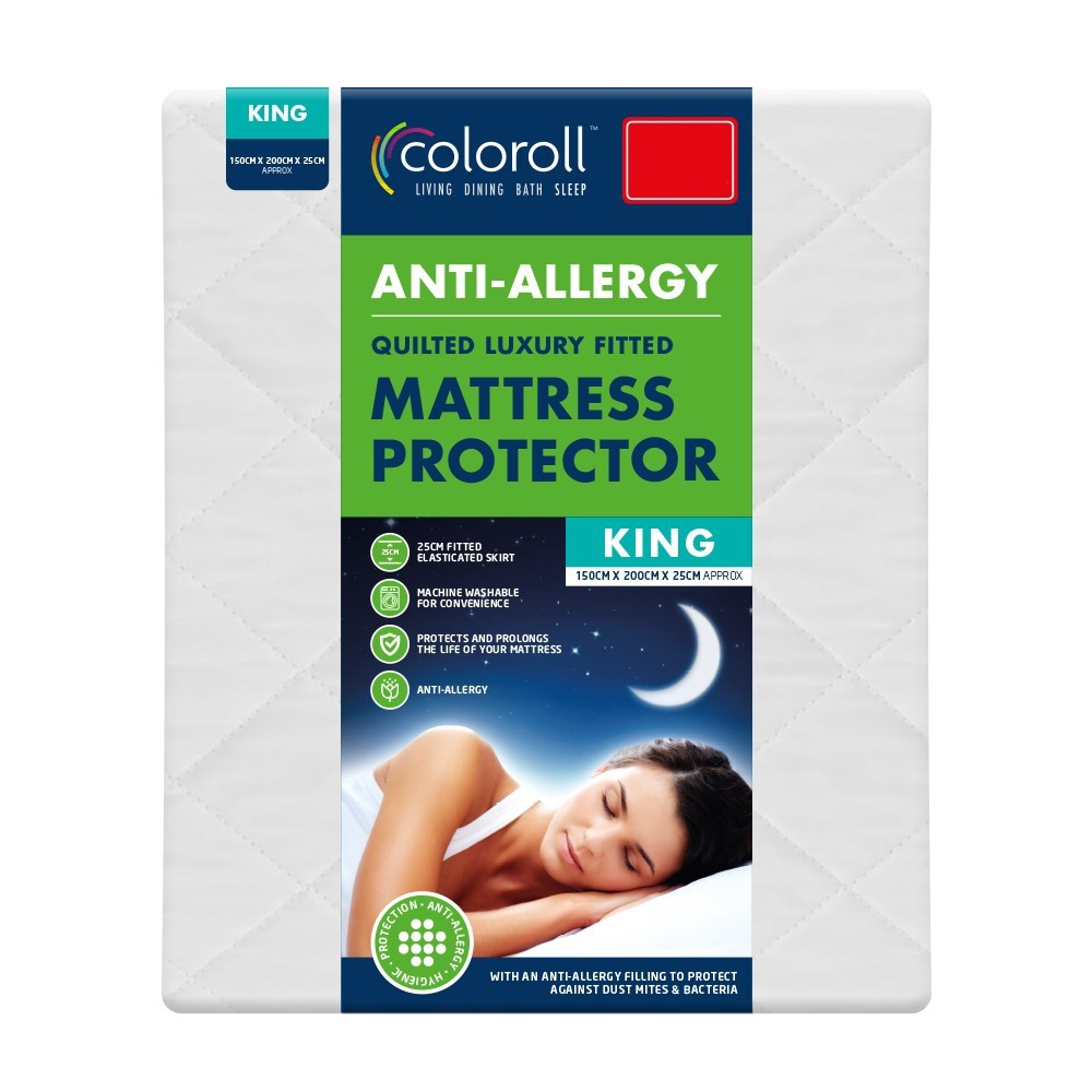 ANTI ALLERGY MATTRESS PROTECTOR - KING SIZE