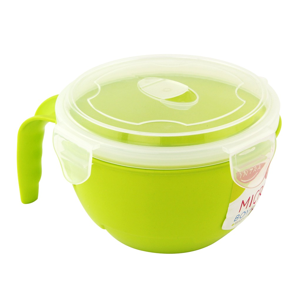 GREEN MICROWAVABLE BOWL