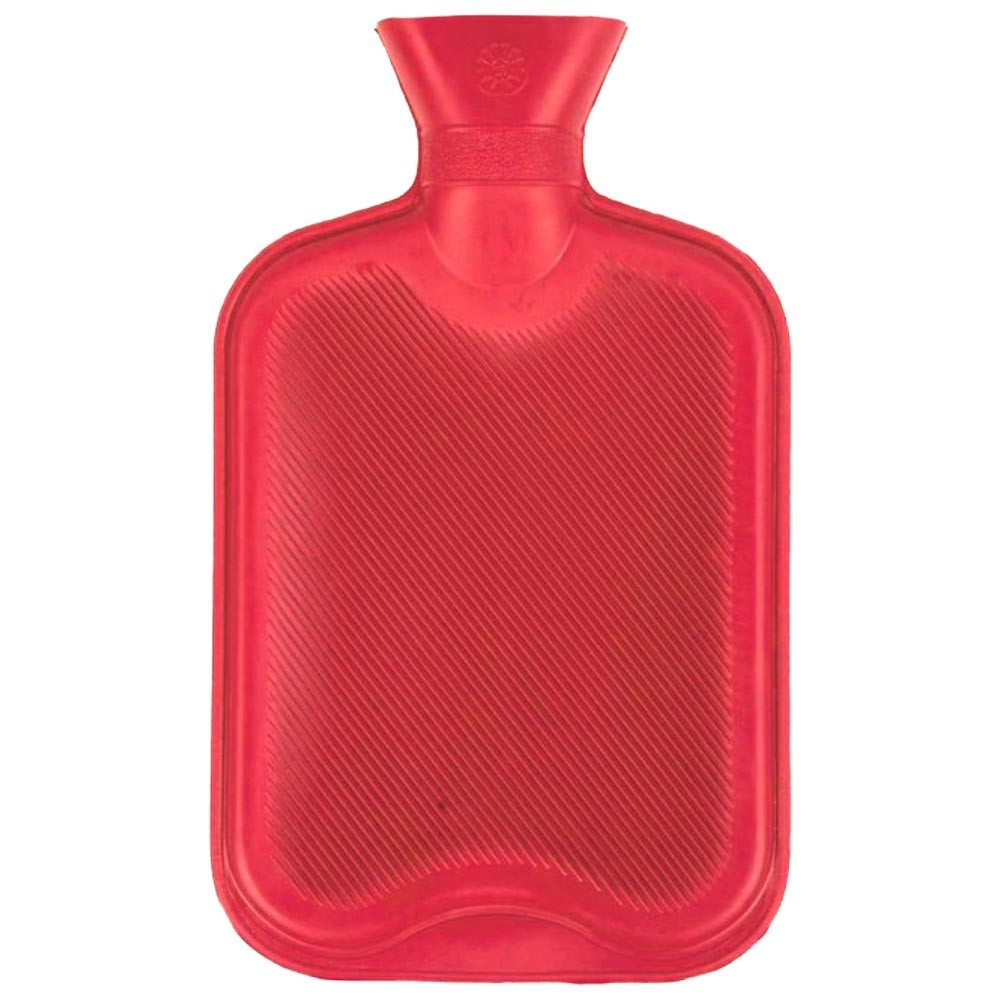 RED ESSENTIAL HOT WATER BOTTLE