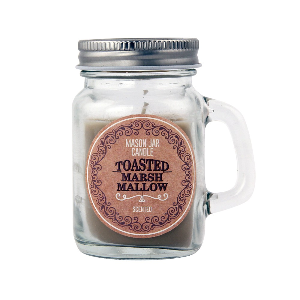 MINI MASON JAR CANDLE MARSHMALLOW