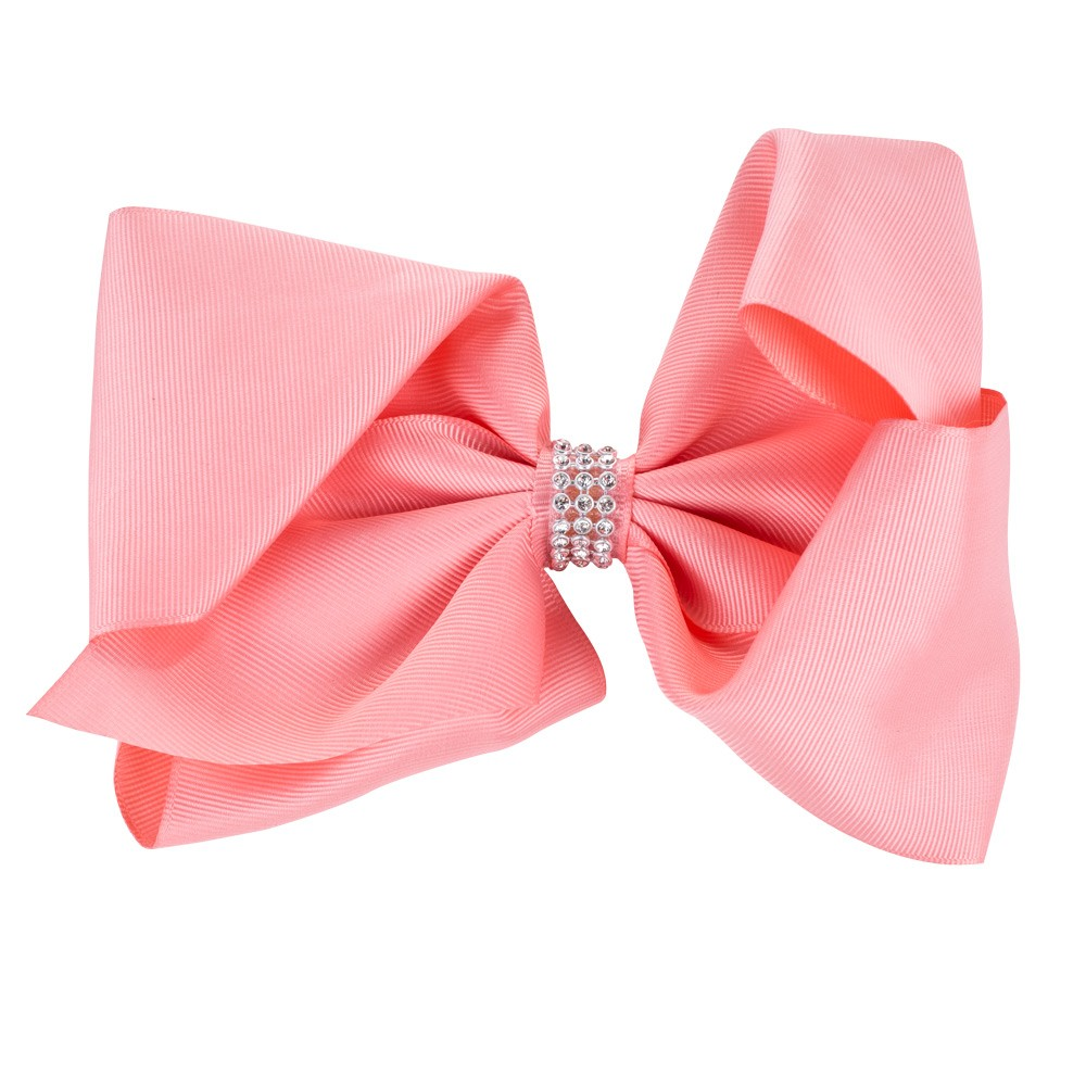 LARGE CORAL BOW&CO BOW