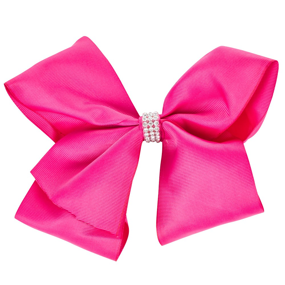 LARGE HOT PINK BOW&CO BOW