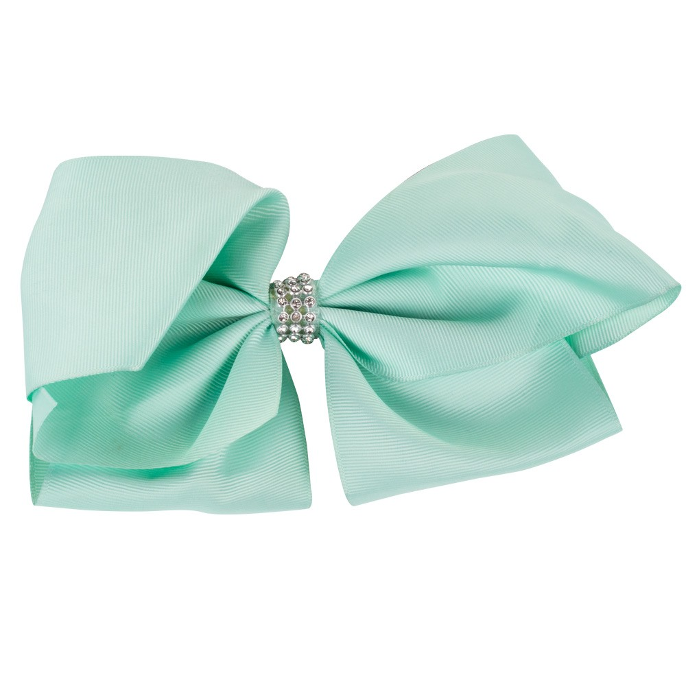 LARGE MINT GREEN BOW&CO BOW