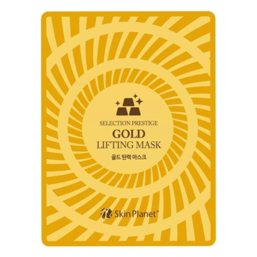 SKINPLANET FACE MASK SHEET GOLD LIFTING