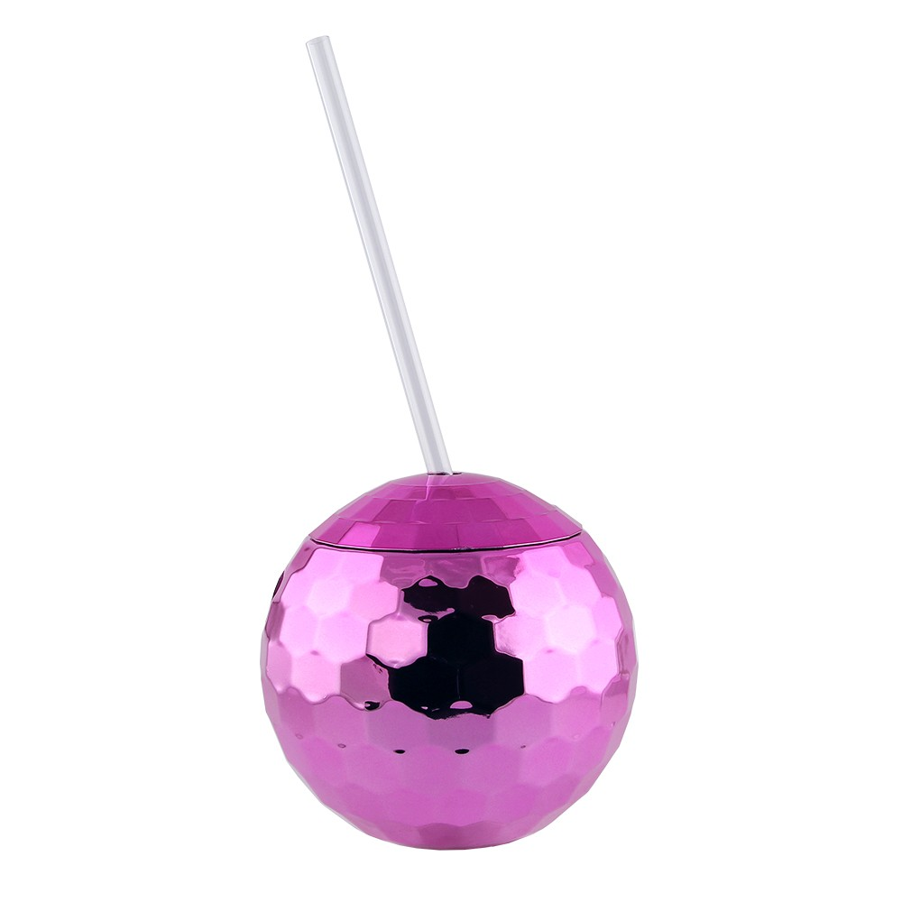 DISCO BALL CUP - PINK