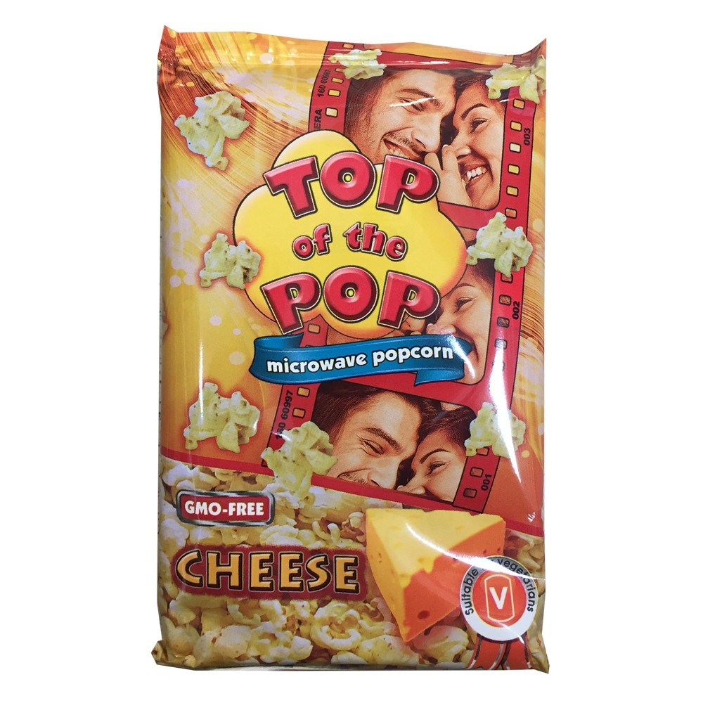 TOP OF THE POPS CHEESE MICROWAVE POPCORN