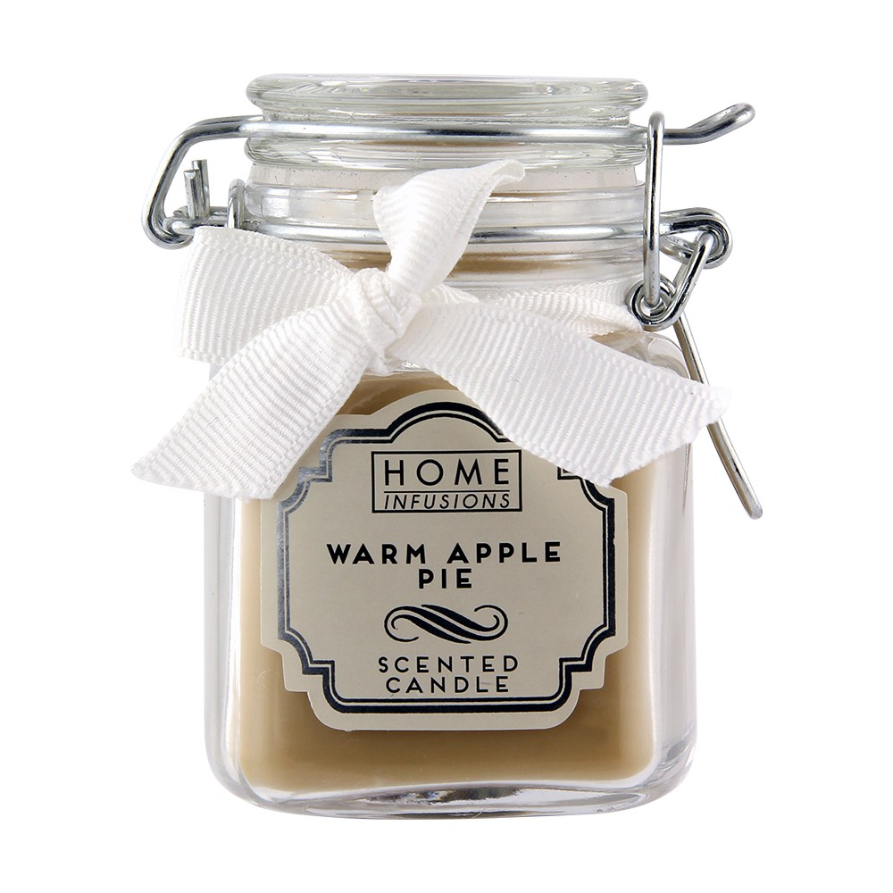 CLIP TOP JAR CANDLE - WARM APPLE PIE
