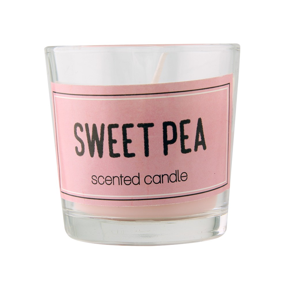 SCENTED CANDLE - SWEET PEA