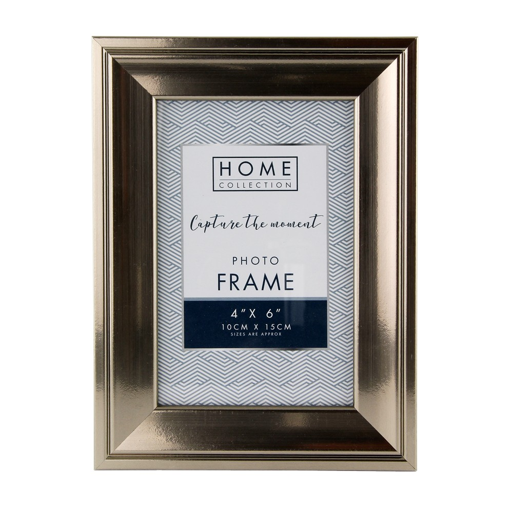 """4X6"""" PEWTER FRAME TWIN PACK"""
