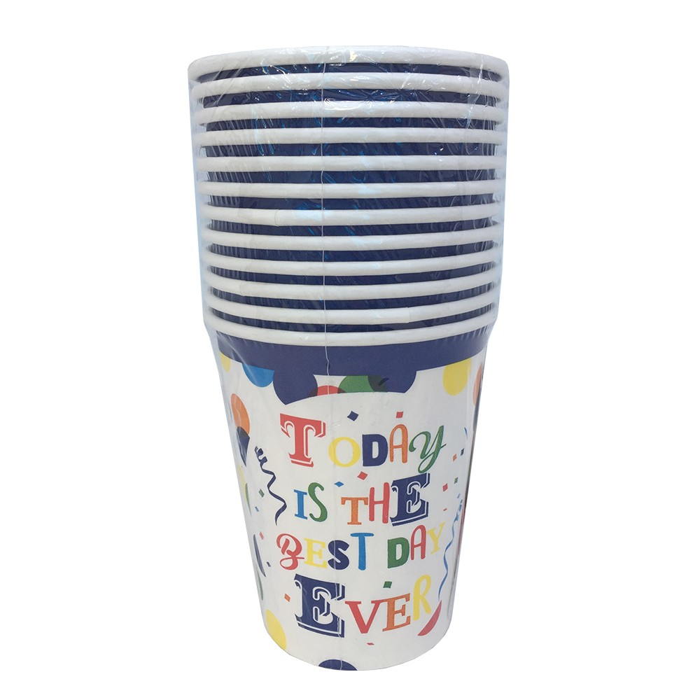 12 PARTY PAPER CUPS