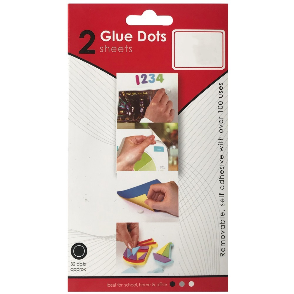 GLUE DOTS TWIN PACK