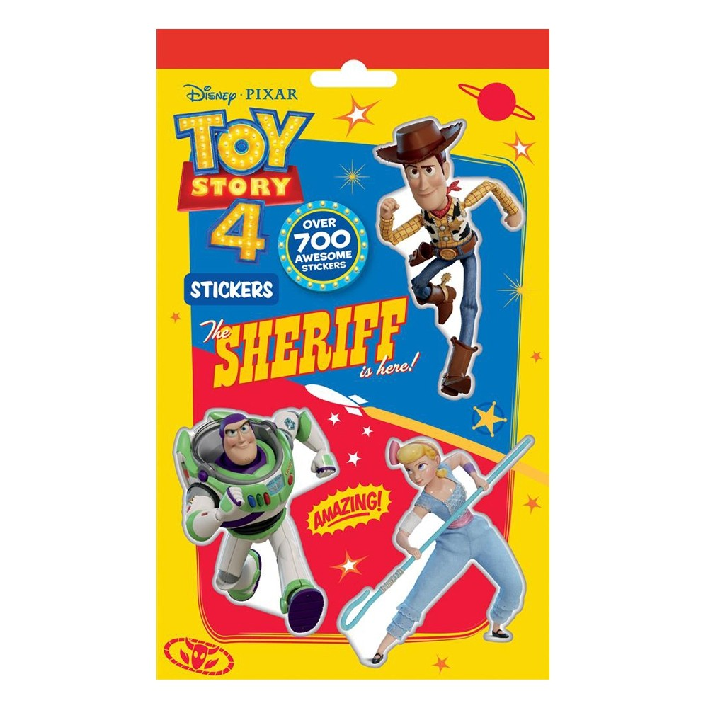 TOY STORY 4 STICKER PACK