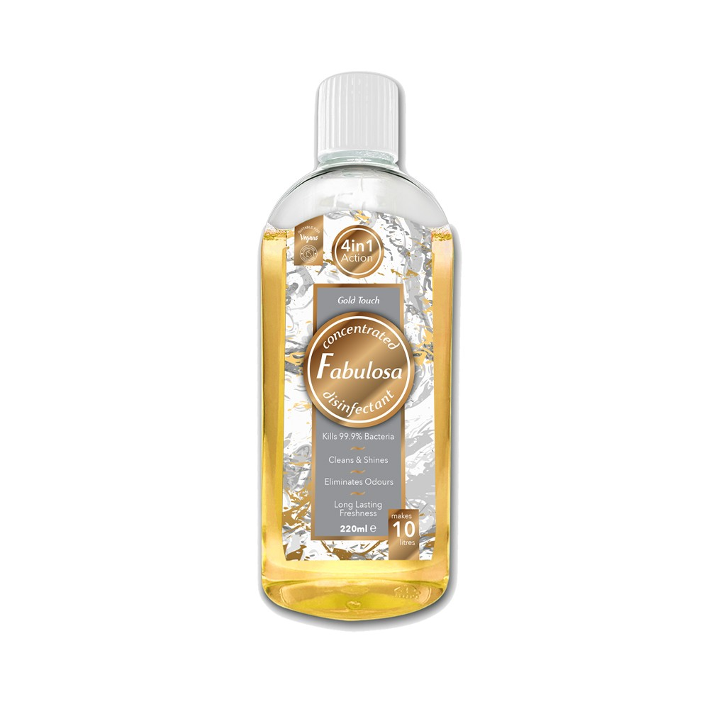 FABULOSA DISINFECTANT GOLD TOUCH 220ML