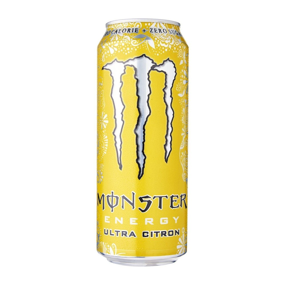 MONSTER ENERGY DRINK CITRON 500ML