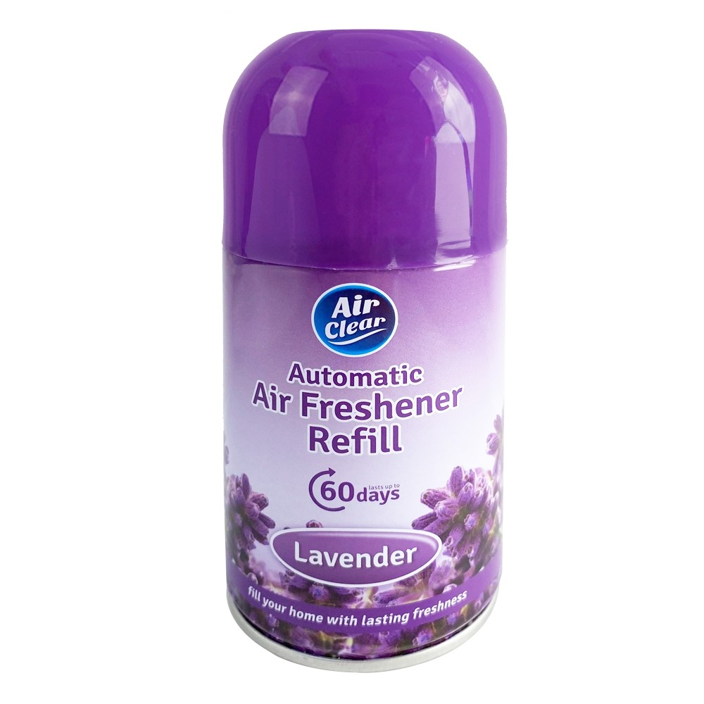AIR CLEAR AUTOMATIC AIR FRESHENER REFILL LAVENDER 250ML