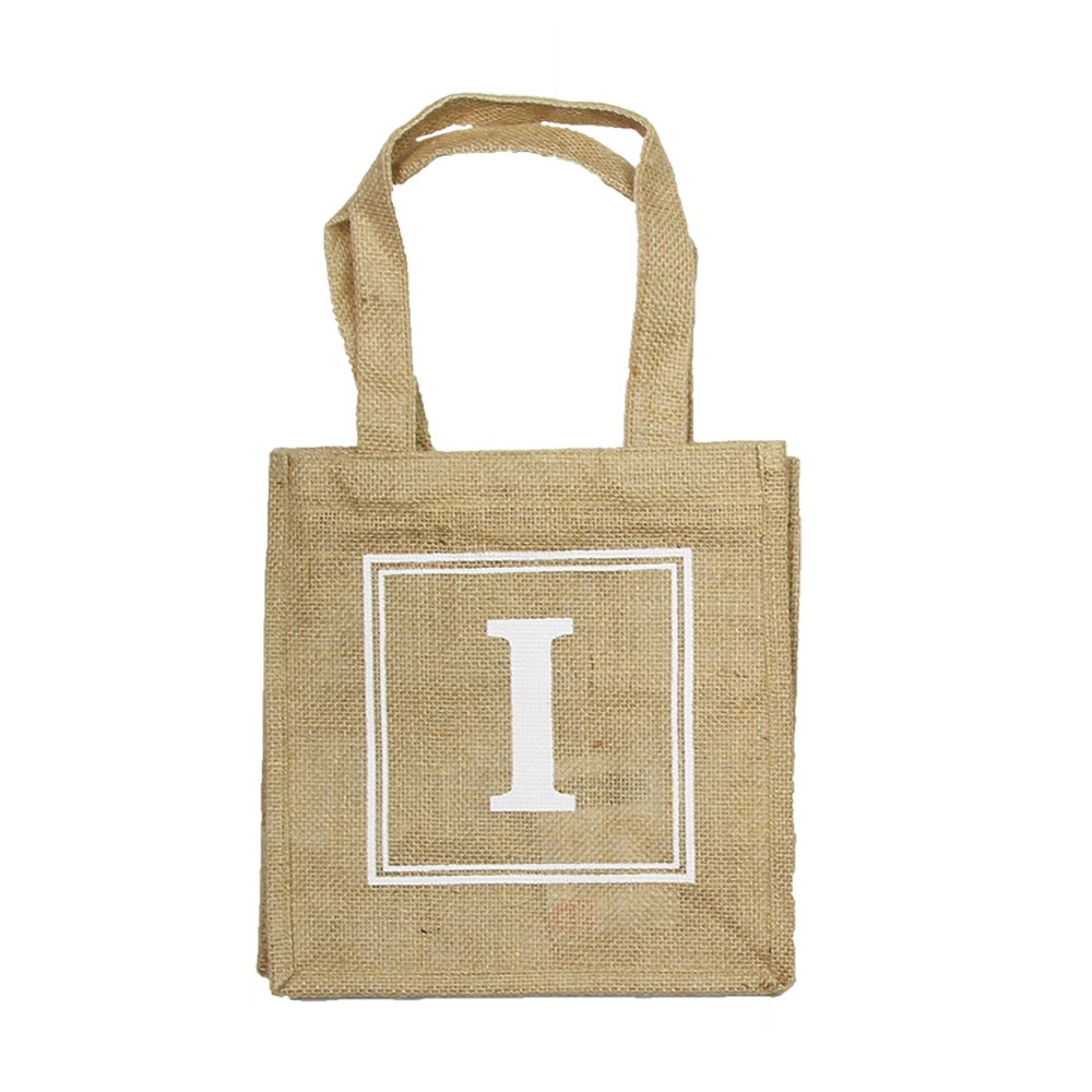HESSIAN TOTE BAG - I
