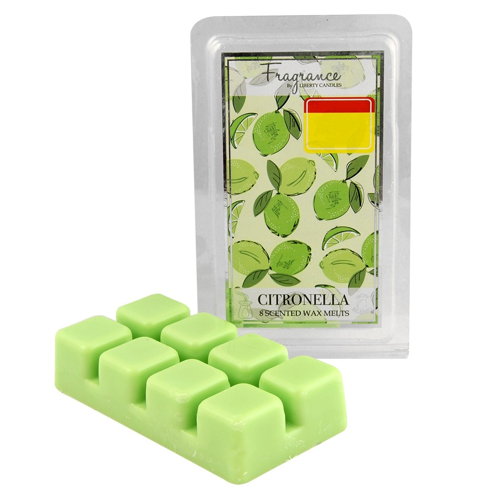 8 WAX MELTS CITRONELLA LIME