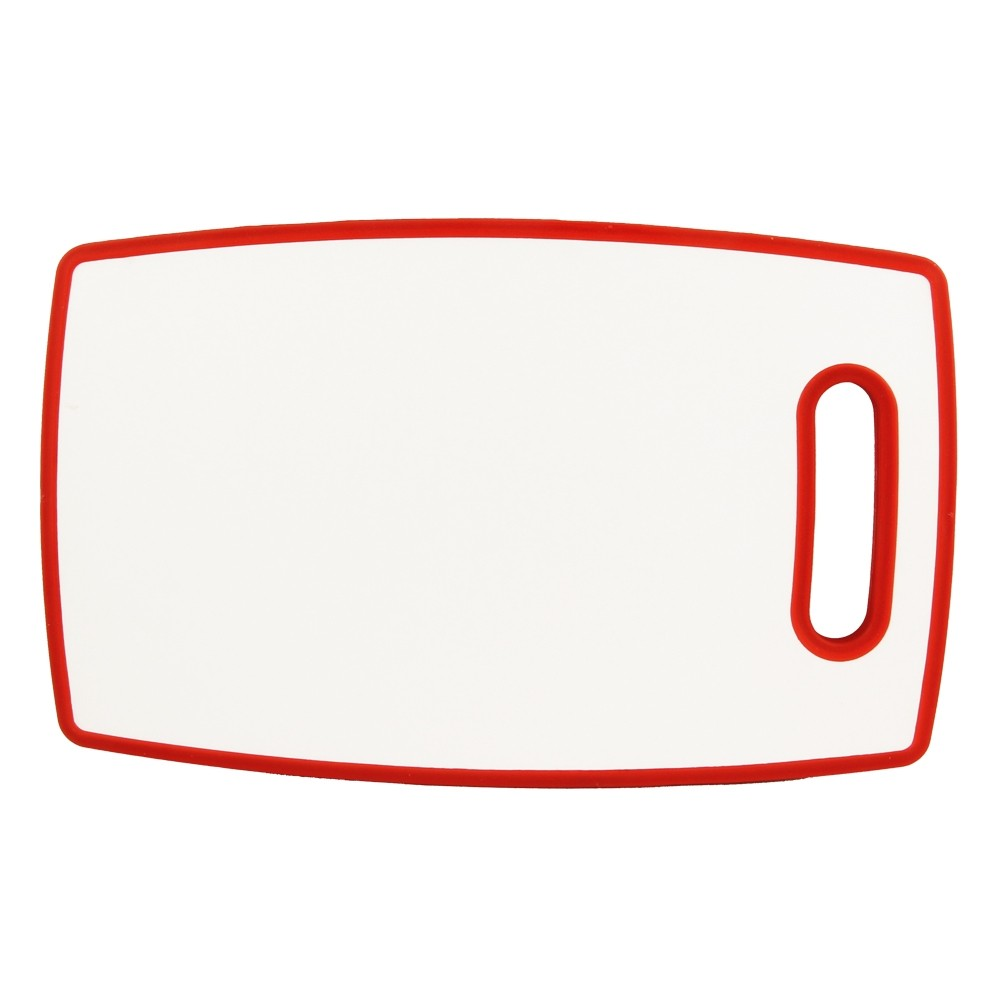 PLASTIC CHOPPING BOARD RED