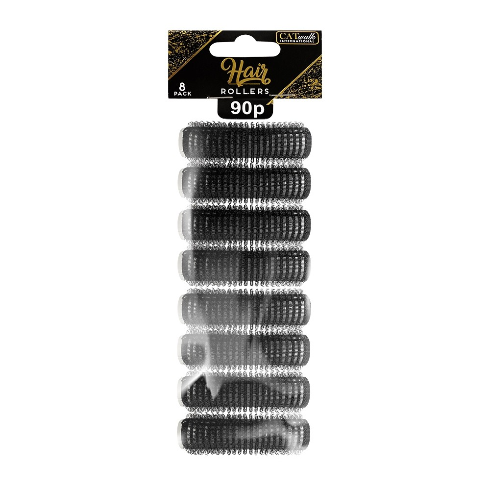HAIR ROLLERS SMALL 8 PACK