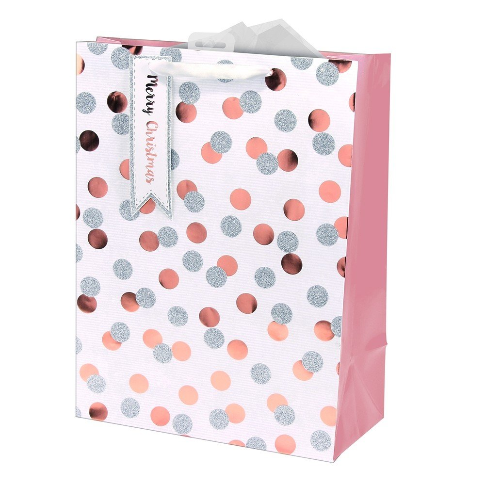 EXTRA LARGE SPOTTY GIFT BAG
