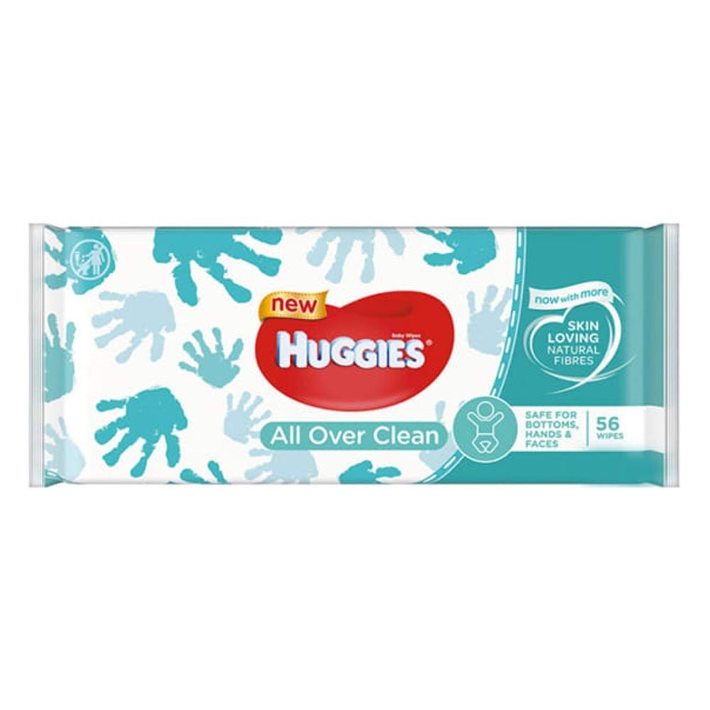 HUGGIES ALL OVER WIPES 56 PACK